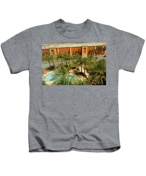 Staycation Upgrade Kids T-Shirt
