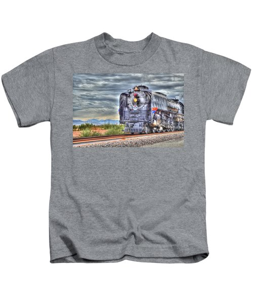 Steam Train No 844 Kids T-Shirt