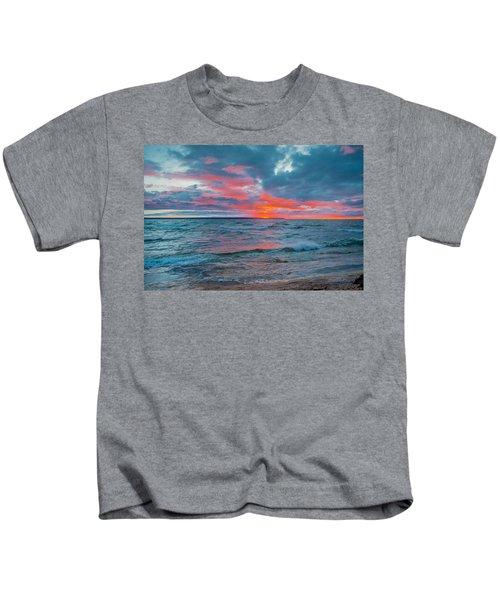 Superior Sunset Kids T-Shirt