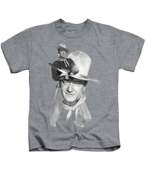 The Duke John Wayne Kids T-Shirt