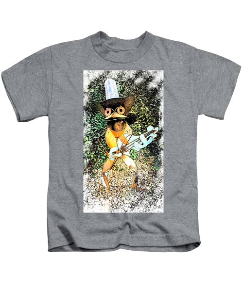 The Guitar Man Kids T-Shirt