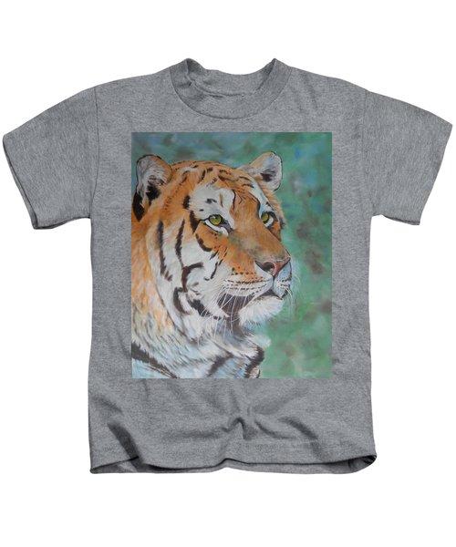 Tiger Portrait Kids T-Shirt