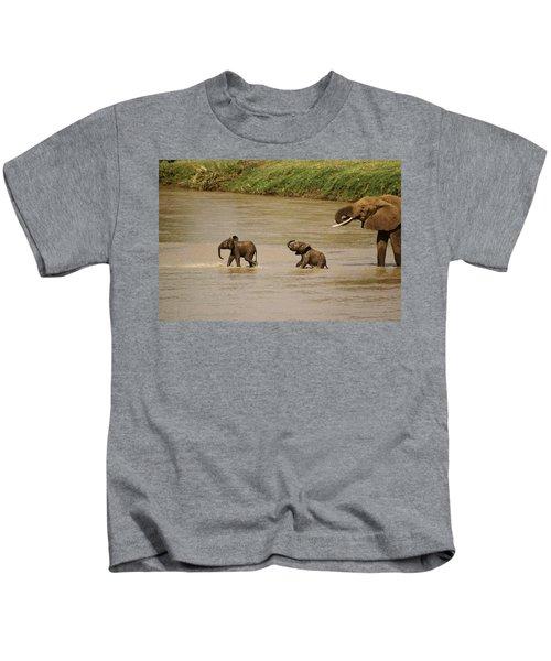 Tiny Elephants Kids T-Shirt
