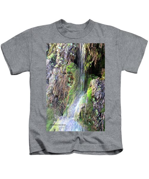 Tonto Waterfall Cave Kids T-Shirt