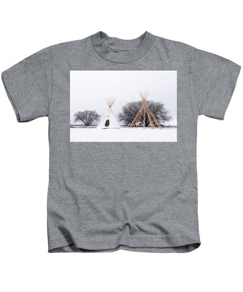 Two Tipis Kids T-Shirt