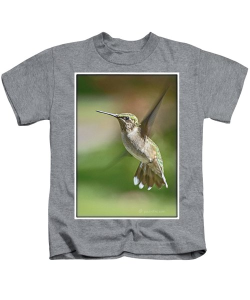 Untitled Hum_bird_five Kids T-Shirt