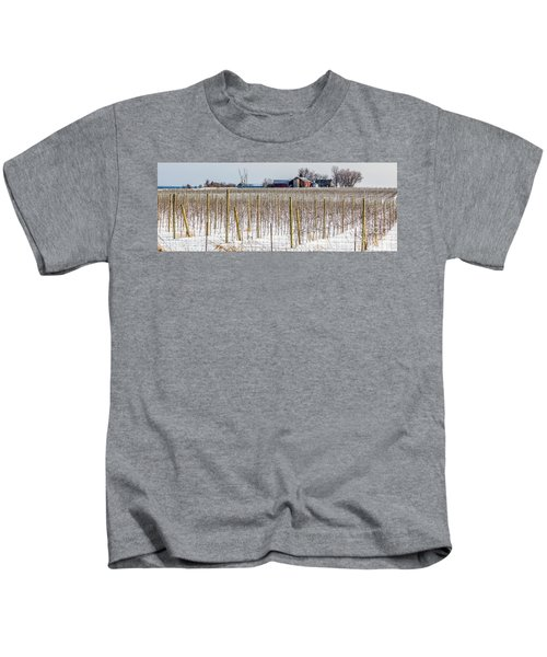 Vinyard On Down Road  Kids T-Shirt