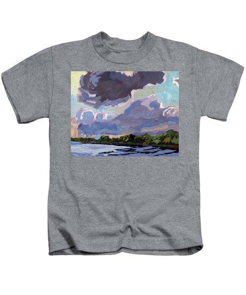 Windy Day Kids T-Shirt