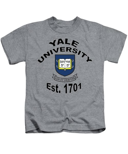 Yale University Est 1701 Kids T-Shirt