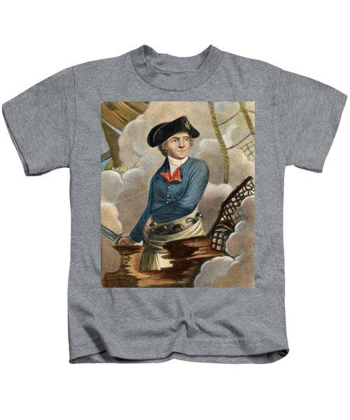 John Paul Jones, 1747-1792 Kids T-Shirt