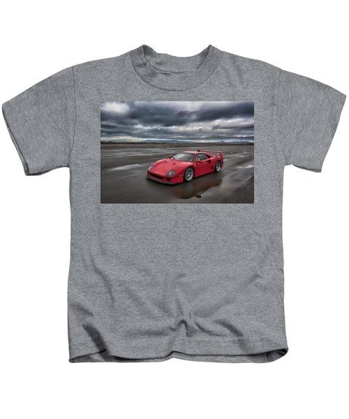 #ferrari #f40 #print Kids T-Shirt