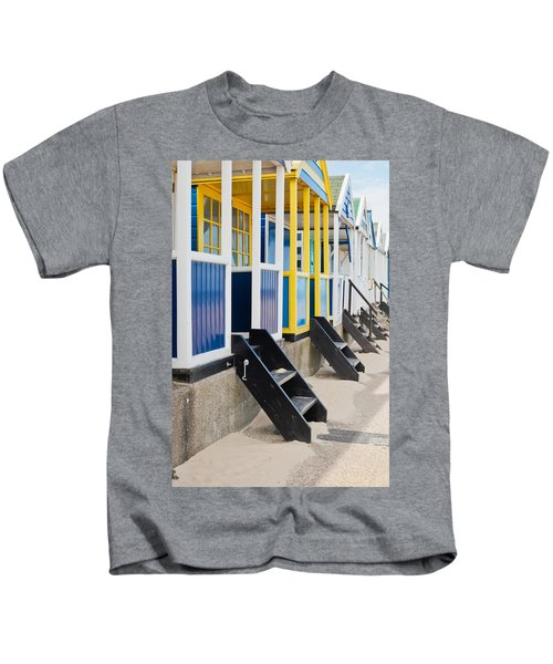 Beach Huts Kids T-Shirt