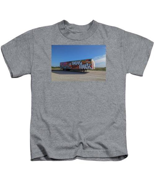 18 Wheeler Art Kids T-Shirt