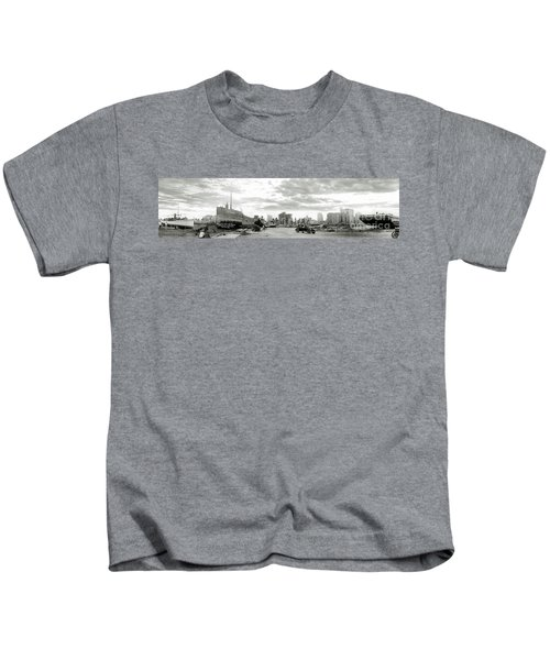 1926 Miami Hurricane  Kids T-Shirt by Jon Neidert