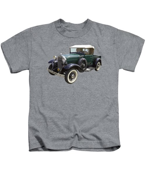 1930 Ford Model A Pickup Truck Kids T-Shirt