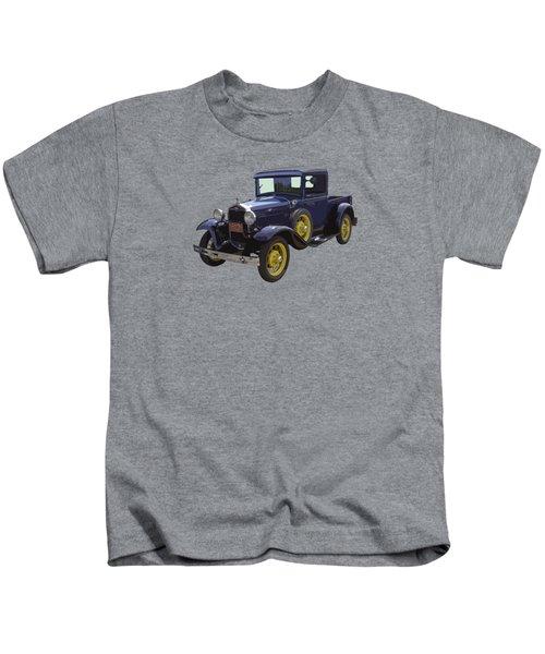 1930 - Model A Ford - Pickup Truck Kids T-Shirt