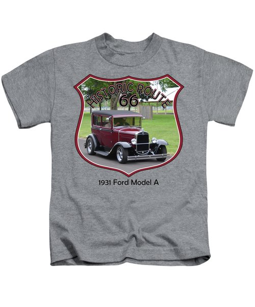 1931 Ford Model A Evensen Kids T-Shirt