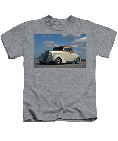 1935 Ford Coupe Hot Rod Kids T-Shirt