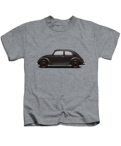 1939 Kdf Wagen - Black Kids T-Shirt