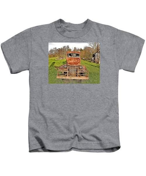 1941 Dodge Truck 3 Kids T-Shirt
