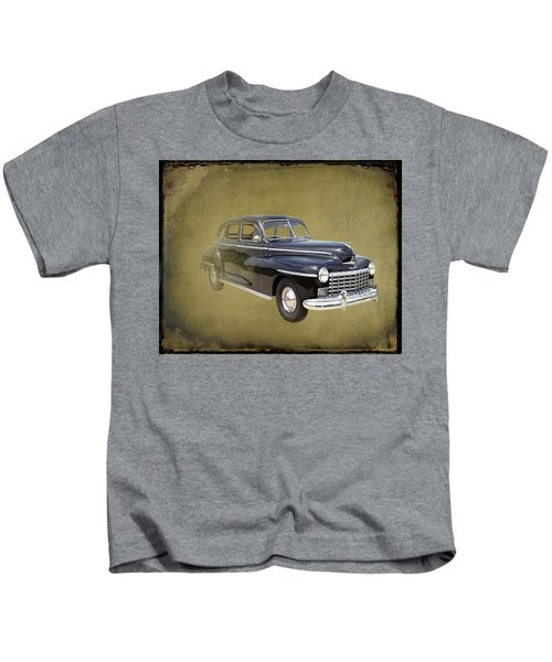 1946 Dodge D24c Sedan Kids T-Shirt
