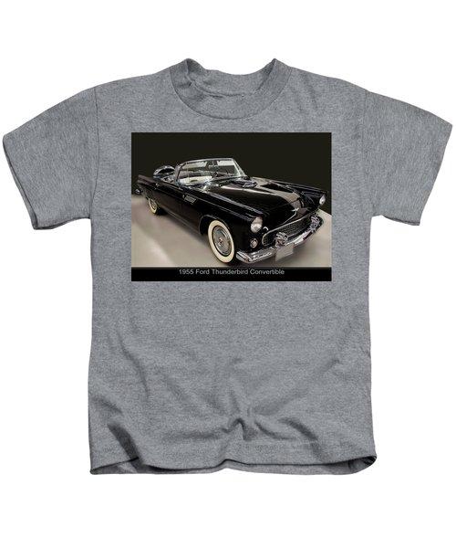 1955 Ford Thunderbird Convertible Kids T-Shirt