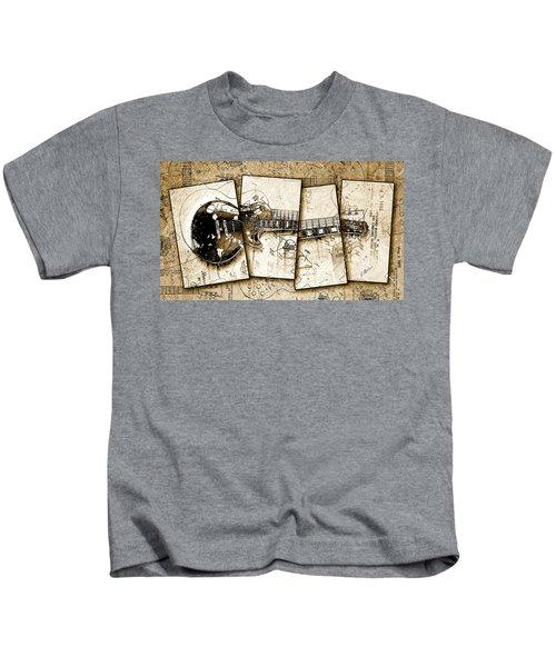 1955 Les Paul Custom Black Beauty V5 Kids T-Shirt
