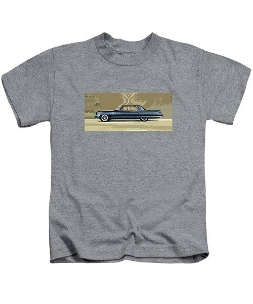1961 Cadillac Fleetwood Sixty-special Kids T-Shirt