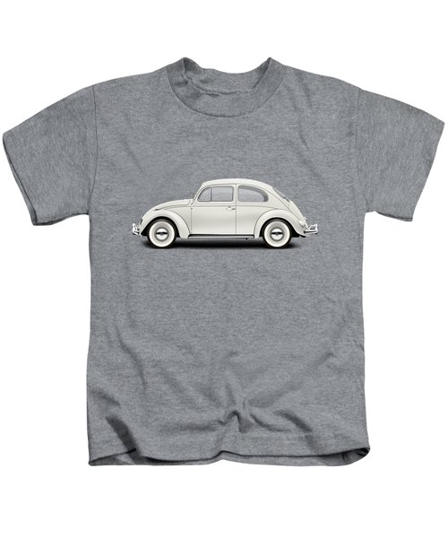 1961 Volkswagen Deluxe Sedan - Pearl White Kids T-Shirt