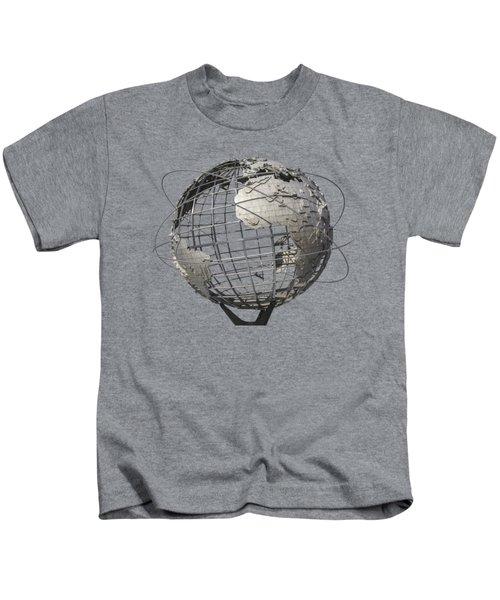 1964 World's Fair Unisphere Kids T-Shirt