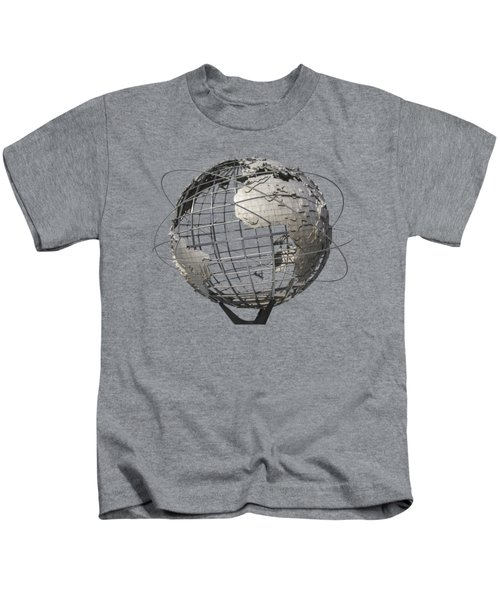 1964 World's Fair Unisphere Kids T-Shirt