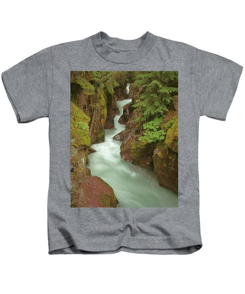 1m8115 Avalanche Gorge Mt Kids T-Shirt