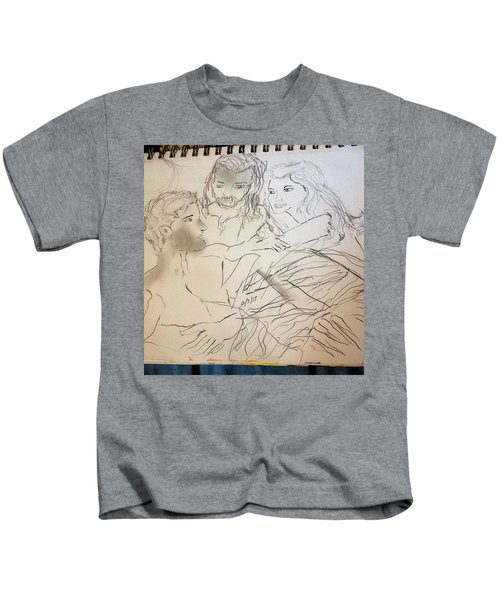 Adam Andeve The Creation Story Kids T-Shirt