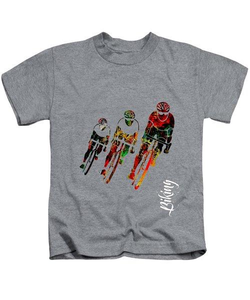 Bike Racing Kids T-Shirt