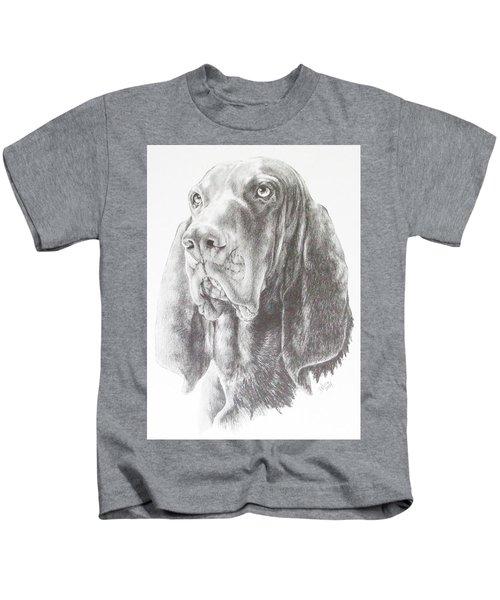 Black And Tan Coonhound Kids T-Shirt