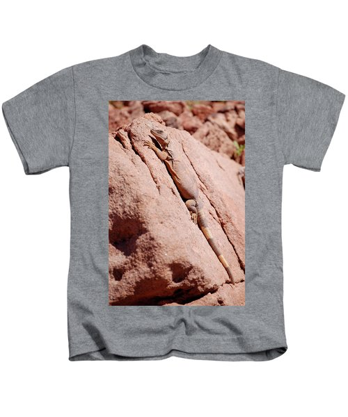 Chuckwalla, Sauromalus Ater Kids T-Shirt
