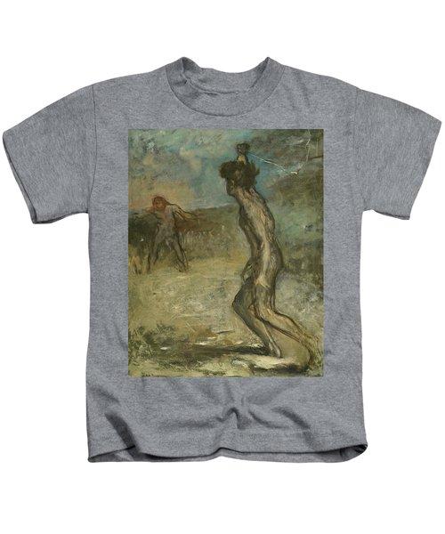 David And Goliath Kids T-Shirt