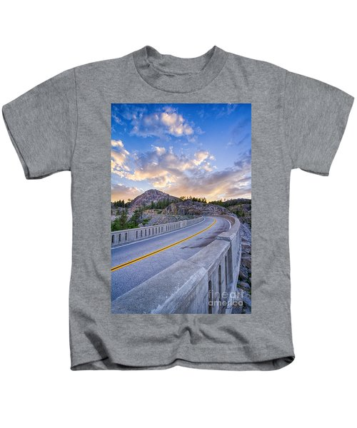 Donner Memorial Bridge Kids T-Shirt