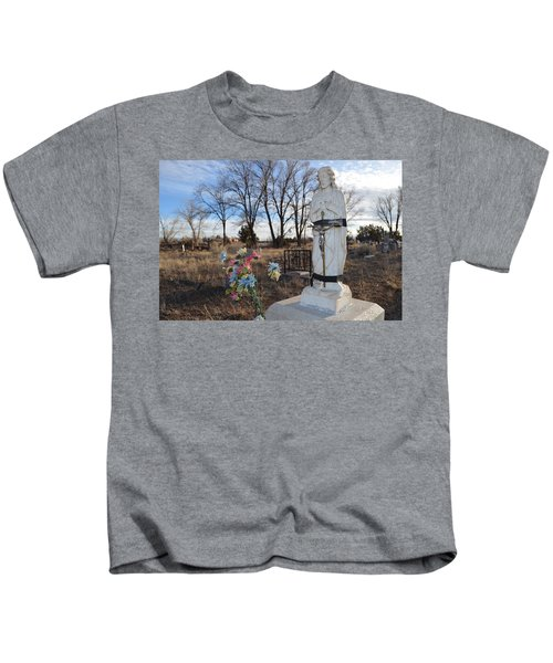 Electrical Tape Jesus Kids T-Shirt