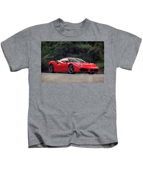 #ferrari #488gtb Kids T-Shirt