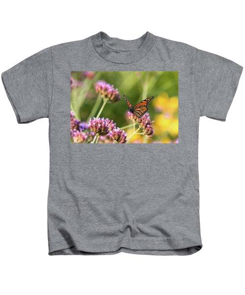 Flight Of The Monarch 1 Kids T-Shirt