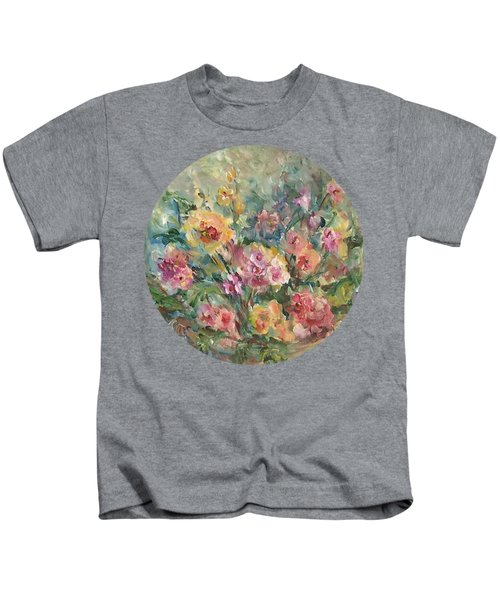 Floral Painting Kids T-Shirt