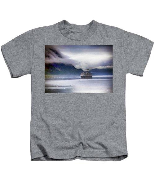 Glacier Bay Alaska Kids T-Shirt
