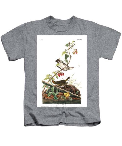 Golden-crowned Thrush Kids T-Shirt