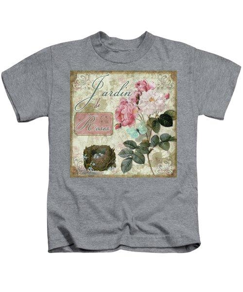 Jardin De Roses Kids T-Shirt
