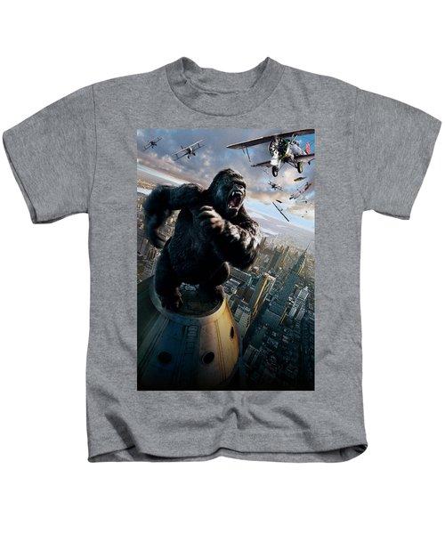 King Kong 2005  Kids T-Shirt