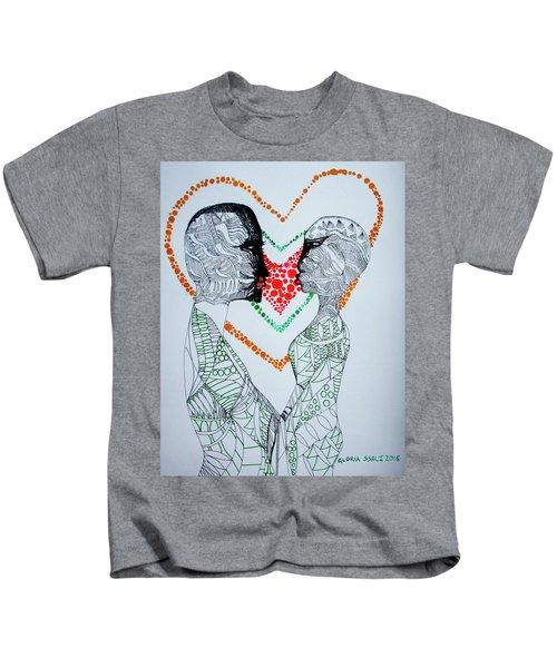 Love Is A Heart Kids T-Shirt