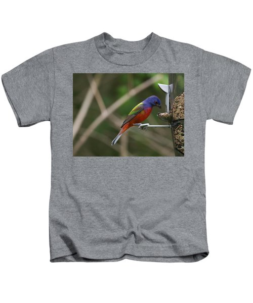 Painted Bunting Kids T-Shirt