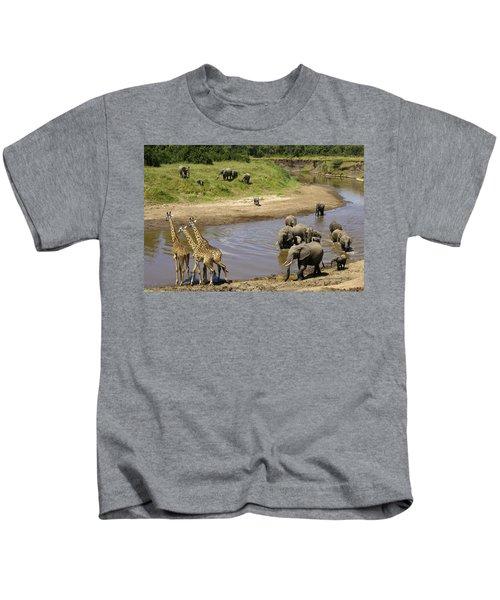 River Crossing Kids T-Shirt