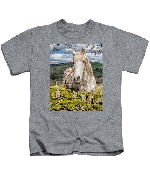 Rustic Horse Kids T-Shirt